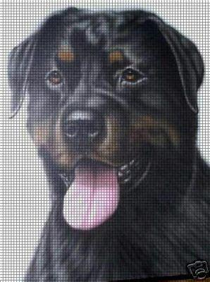Rottweiler Crochet Pattern