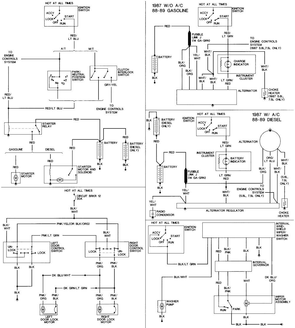 1991 ford F150 Starter solenoid Wiring Diagram Elegant ...
