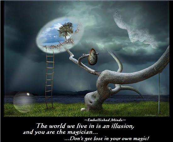 Wisdom Quotes The World We Live In Is An Illusion