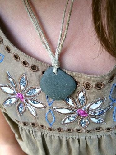 stone necklace 1