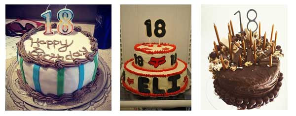 Birthday cake ideas for brother turning 18