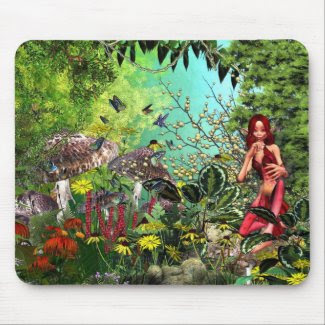 Rubie The Pixie 3 Mouse Mat