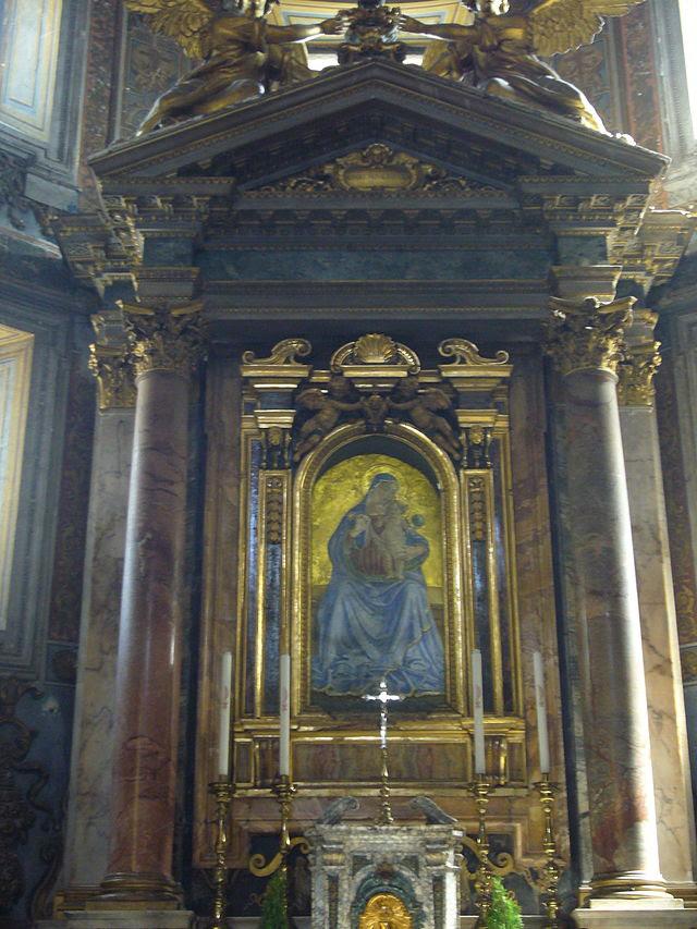 S M d Consolazione - Madonna della Consolazione (Antoniazzo Romano) 1260631.JPG