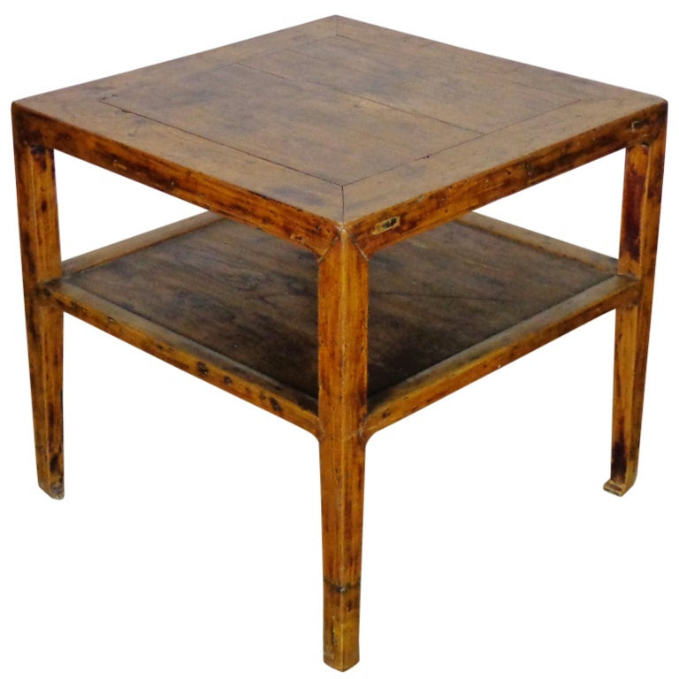 Square Antique Chinese Game Table at 1stdibs