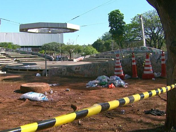 Festa ocorreu no Ciclo Básico da Unicamp em Campinas (Foto: Reprodução/ EPTV)