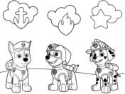 Dibujos De Paw Patrol Para Colorear Páginas Para Imprimir Y