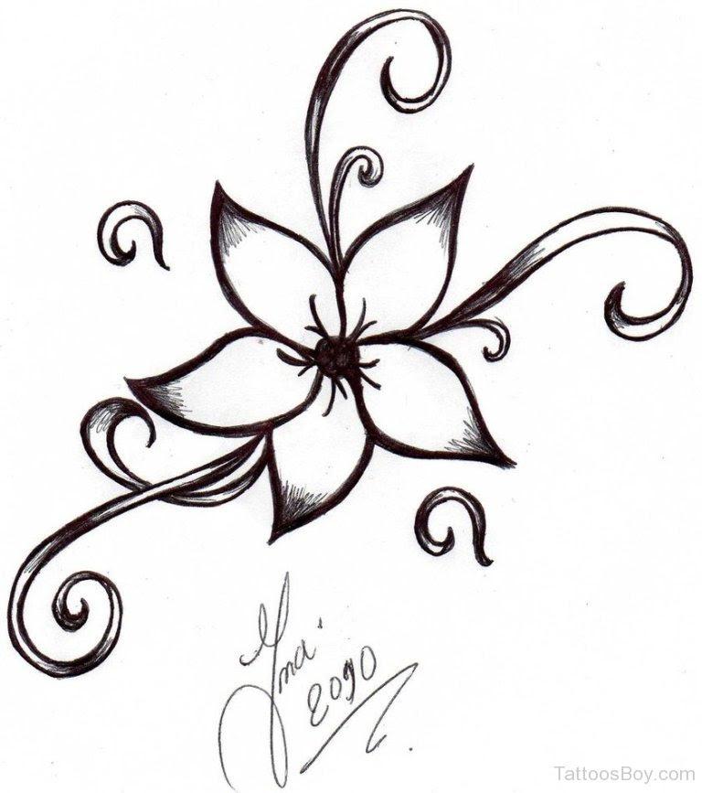 Simple Flower Tattoo Design Tattoo Designs Tattoo Pictures