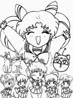 Mes Coloriages à Imprimer Pour Enfants Sailor Moon