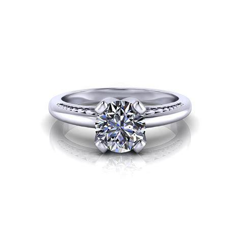 Unique Solitaire Engagement Ring   Jewelry Designs
