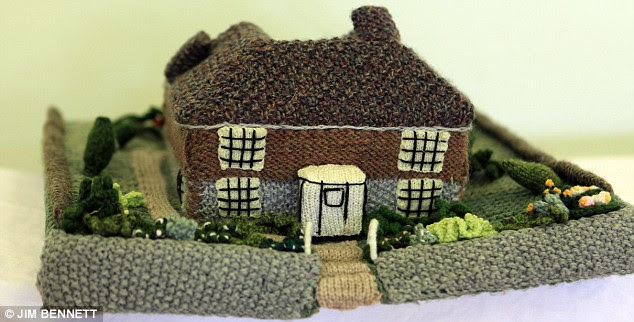 MERSHAM NEAR ASHFORD WOOL VILLAGE FEATURE;FLANDERS HOUSE