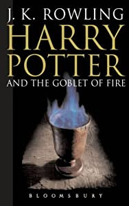 """Cover of """"Harry Potter and the Goblet of ..."""
