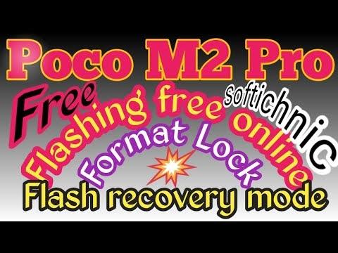 Poco m2 pro (gram) mi account free file | Poco_M2 pro mi account frp unlock by softichnic