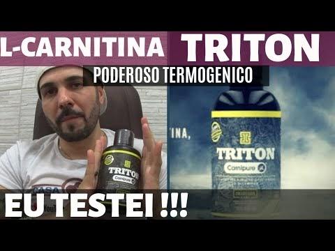 Triton da Iridium Labs a L Carnitina Carnipure a melhor L-Carnitina do Mercado