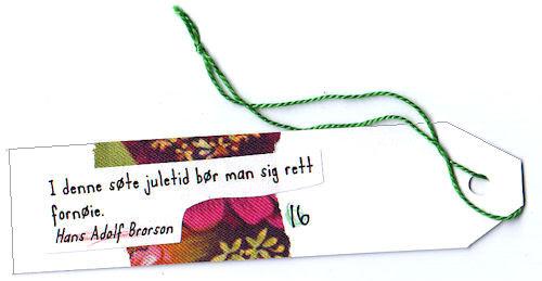 #16 :: sweet :: søt