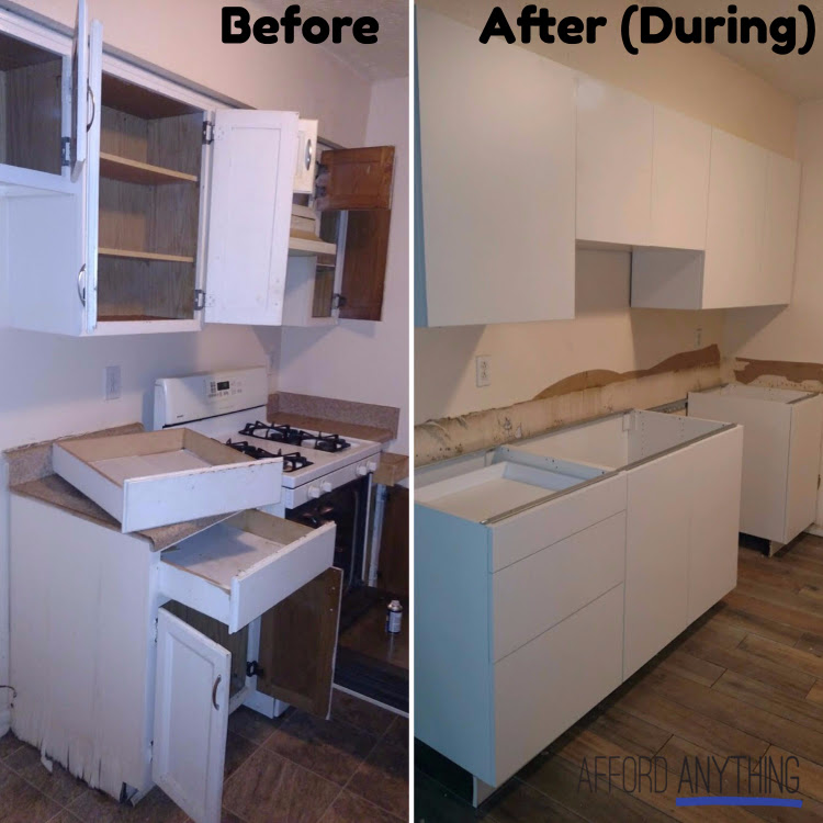 How to renovate a rental property kitchen