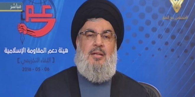 Nasrallah: La Siria è stata attaccata perché è il pilastro della Resistenza in Medioriente