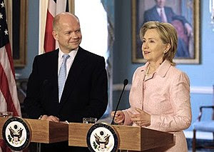 Secretary Clinton met with British Foreign Sec...