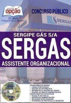 Apostila concurso Sergipe Gás S.A - SERGAS cargo Assistente Organizacional.