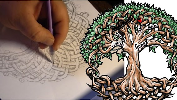 Norse Tree Of Life Tattoo