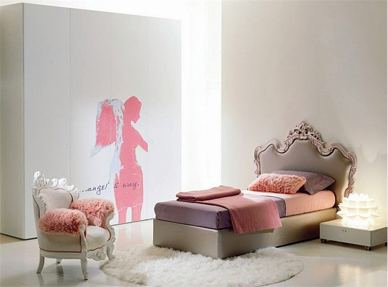 Amazing Furniture for Luxury Girls Bedroom Design by Di Liddoamp;Perego  Ki