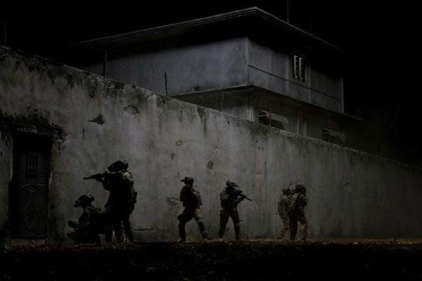 U.S. Navy SEAL Team 6 is about to enter Osama bin Laden's fortified compound in Abbottabad, Pakistan...in ZERO DARK THIRTY.