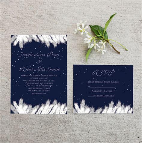 Top 10 Winter Wedding Invitations at ElegantWeddingInvites