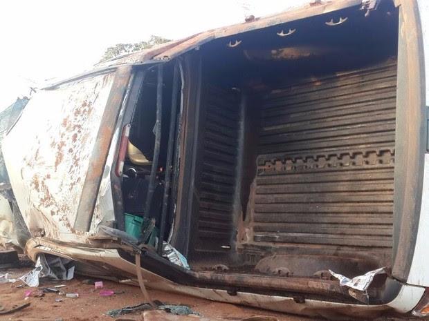 Vítimas foram socorridas com ferimentos leves (Foto: Alerta Rolim/ Reprodução)