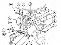 Chevy 350 Bracket Diagram