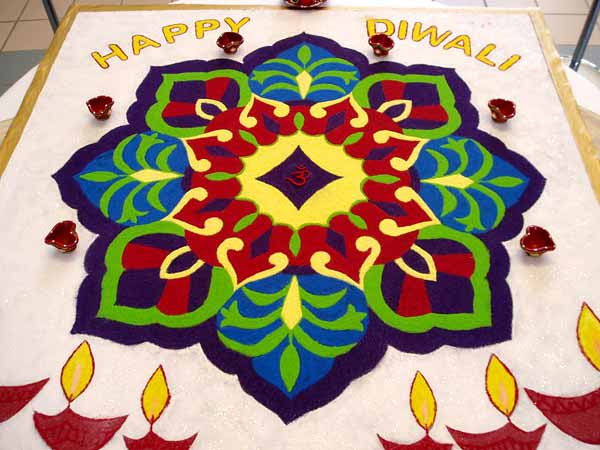 Diwali Rangoli - Diwali Rangoli Decoration Ideas, Rangoli Designs ...