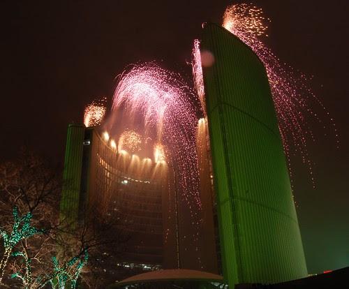 Fireworks at Cavalcade of Lights 2