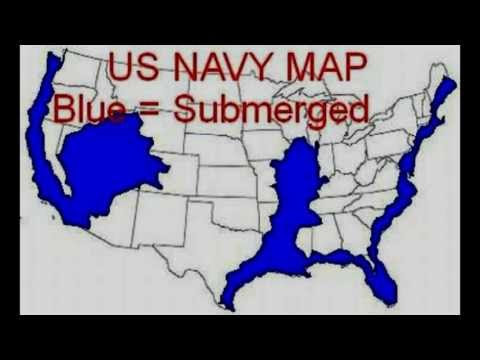 Us Navy Map After New Madrid