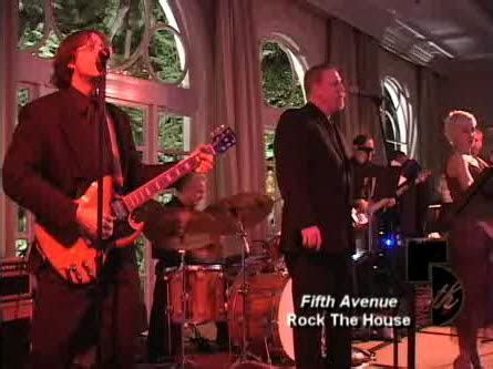 Rock The House   Fifth Avenue Entertainment ? Wedding