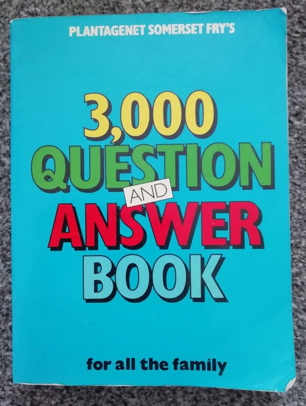 Plantagenet Somerset Fry's 3,000 Question & Answer Book