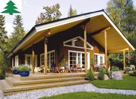 Casas de madera prefabricadas casa movil galicia - Casa madera galicia ...