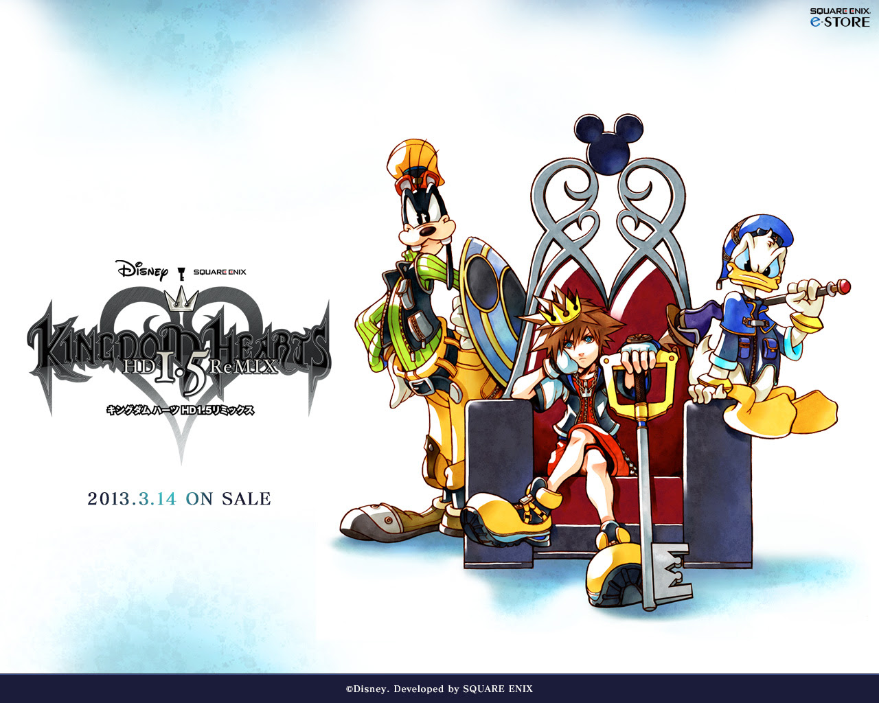 Kingdom Hearts Hd 1 5 Remix Wallpaper Kingdom Hearts Ultimania