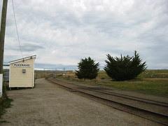 Where we were left to board train