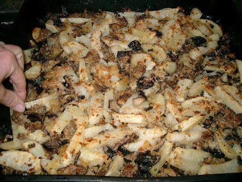 Funghi Cardoncelli gratinati con patate