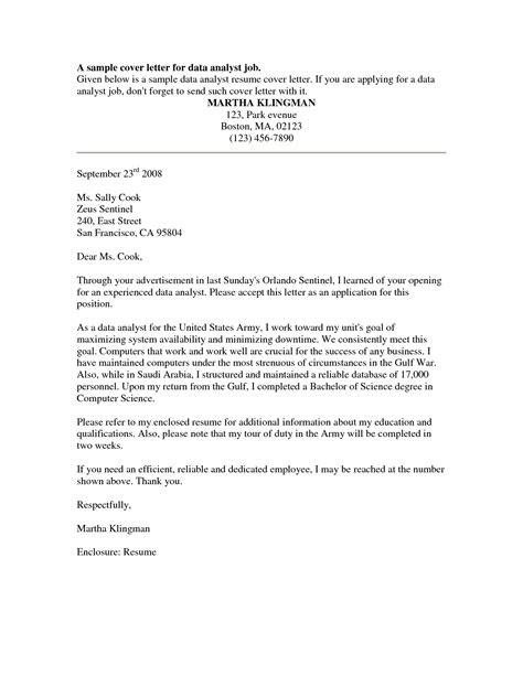Cover Letter for Internal Position | Sample Cover Letters