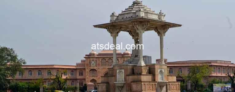 statue circle jaipur directions