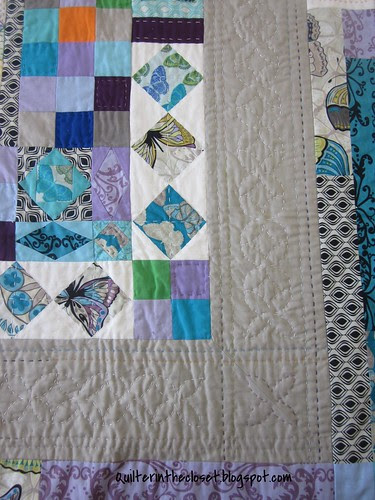 Handstitched Medallion quilting