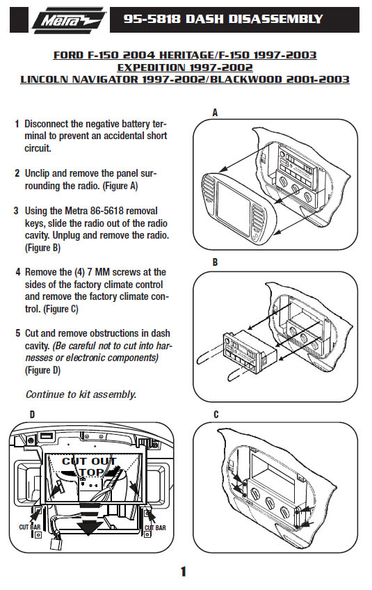 .1998-FORD-F-150installation instructions.