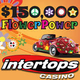 Intertops Casino Players are Feeling the Love during 150K Flower Power Casino Bonus Giveaway
