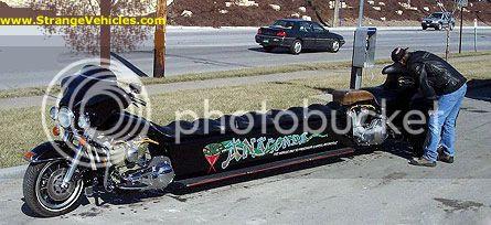 Limusine motocicleta