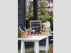 Budget Friendly Wedding Reception Framed Chalkboard Message Board
