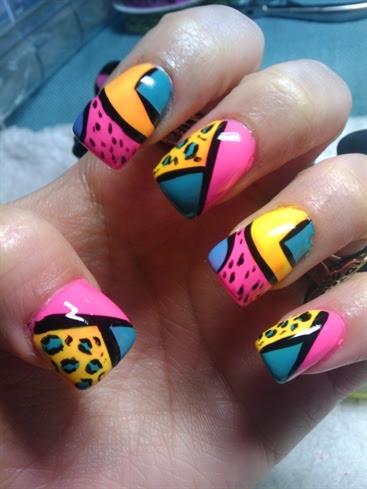 Bright Nail Art Designs | Makeup Tips and Fashion