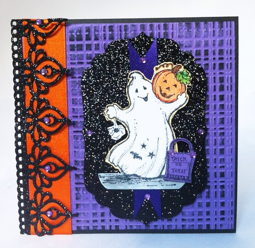 Serendipity stamps Halloween card