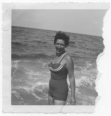Millie at the Ocean