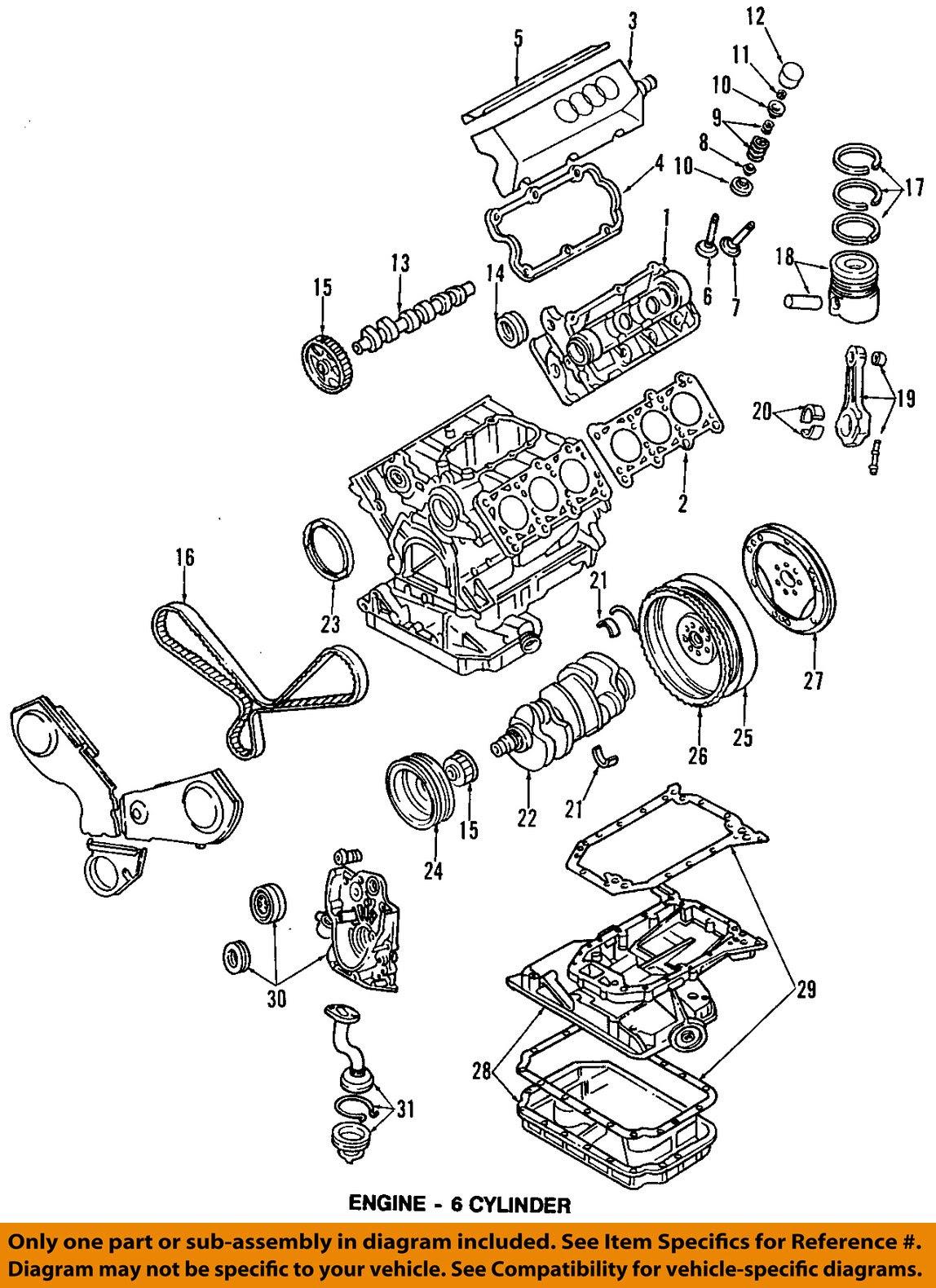 Audi V8 Quattro Engine Diagram