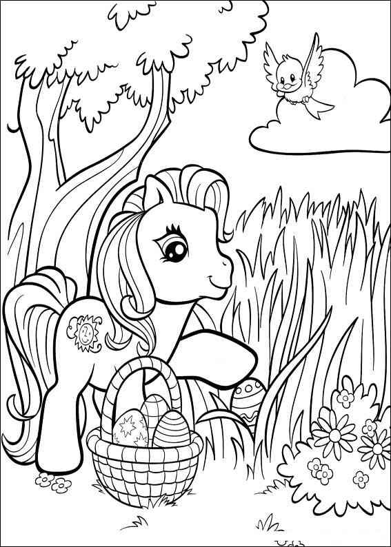 Mobile/happy Birthday My Little Pony Coloring Pages ...