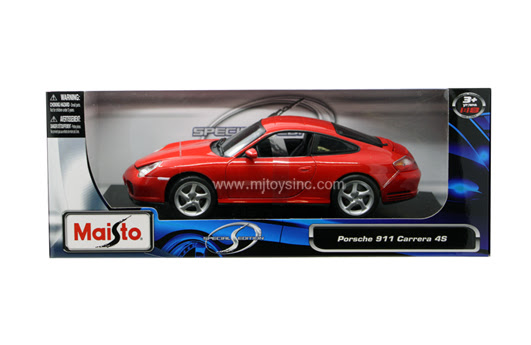 Maisto 118 Special Edition Porsche 911 Carrera 4s M And J